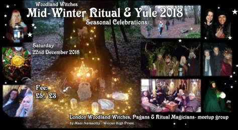 Woodland witches Yule 2018- stars version