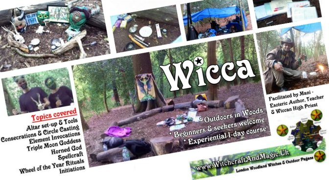 Wicca: 1-day experiential course (Outdoors, London)