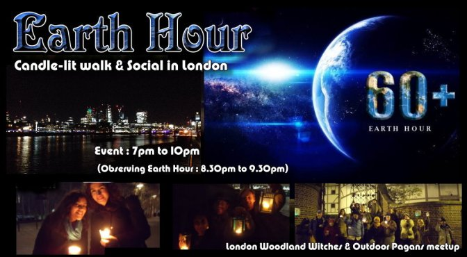Earth Hour London 2019 – Candle-lit Walk & Eco-ceremony