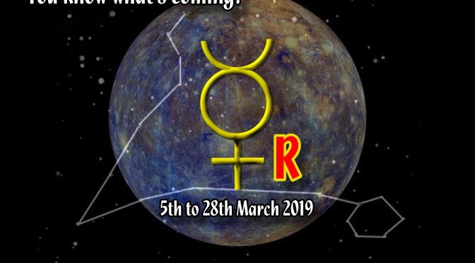 Mercury retrograde (March 2019)