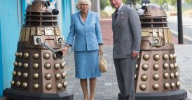 Britains-Prince-Charles-and-the-Duchess-of-Cornwall-arrive-at-the-BBCs-Dr-Who-studios-in-Cardiff-Wales