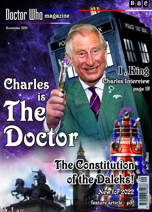 charles is the Doctor - spoof