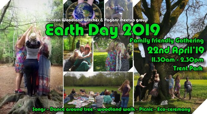 Earth Day 2019- Family friendly Gathering- Woodland Picnic & Eco ceremony