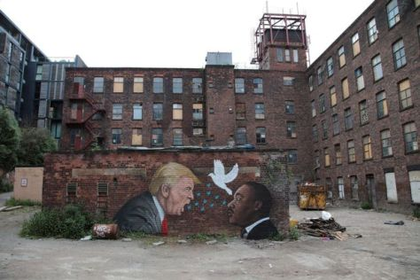TRUMP-mural-by artist AKSE