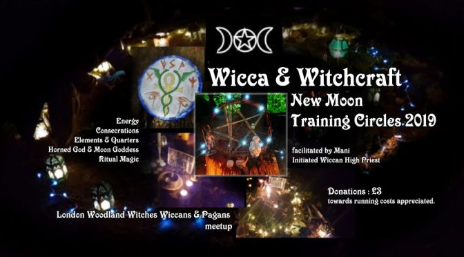 Wicca New Moon – Training Circle (Summer 2019) in London