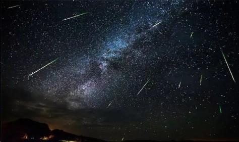 Perseids meteors aug 2019
