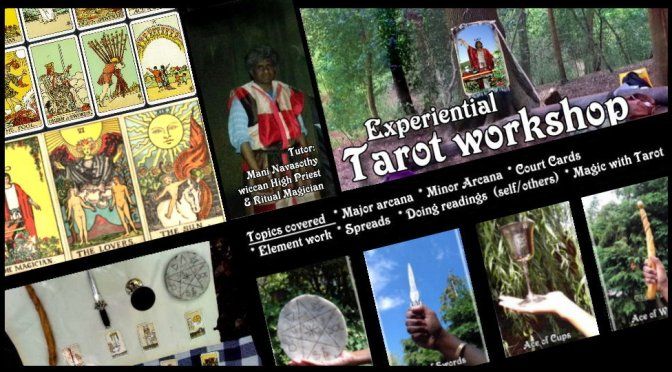 Experiential Tarot 1-day Course – (outdoors/ London)