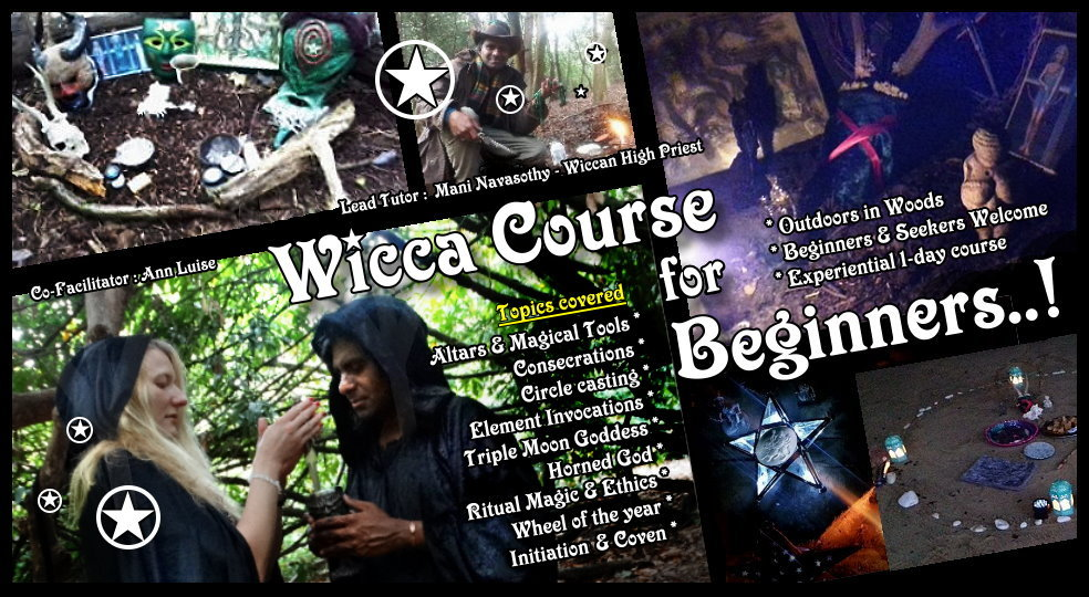 Wicca course Beginners-Autumn 2019- v2 by Mani Navasothy