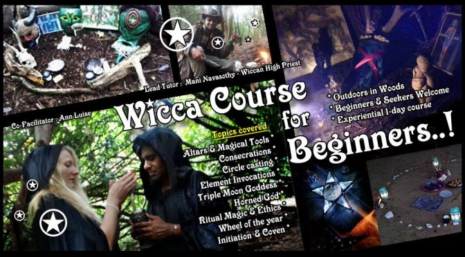Wicca for Beginners: 1-day course (Outdoors, London) 19th Oct'19