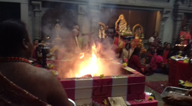 Video:Chandi Homam Wimbledon Ganapathy Temple (October 2019)