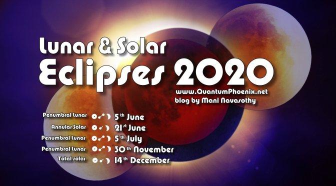 Lunar & Solar Eclipses 2020