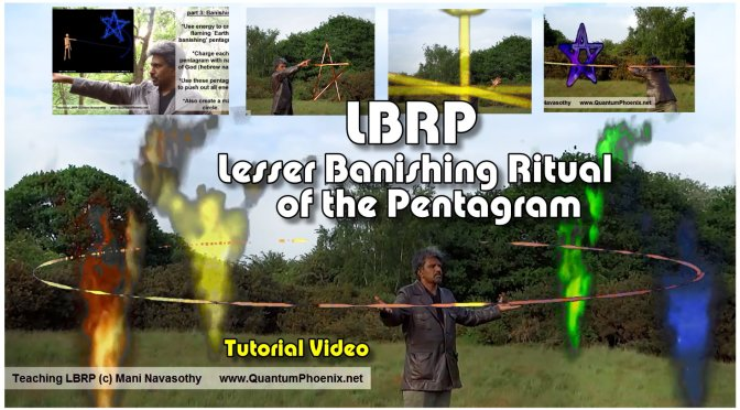 video: LBRP-  Lesser Banishing Ritual of the Pentagram – Introduction & Full easy demonstration