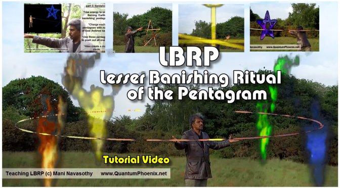 video: LBRP-  Lesser Banishing Ritual of the Pentagram – Introduction & Full easy demonstration