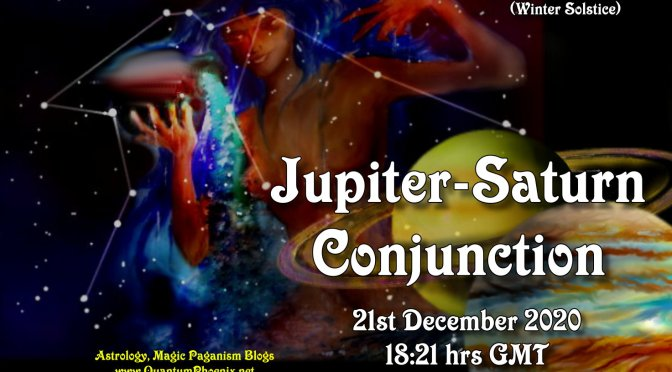 Solstice 2020:  Jupiter-Saturn ConjuncTion of 21st December!