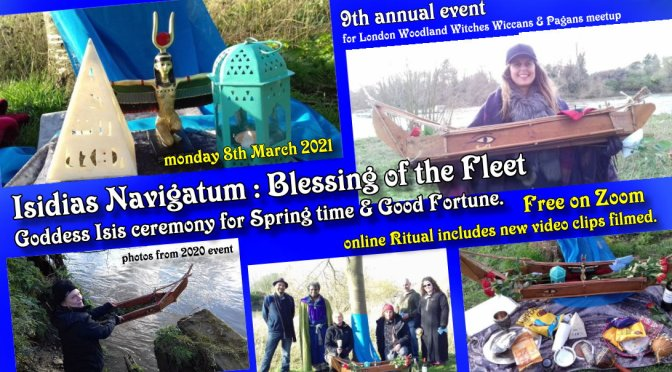 Isidias Navigatum 2021 : Spring & Blessing for Wealth Ceremony (online)