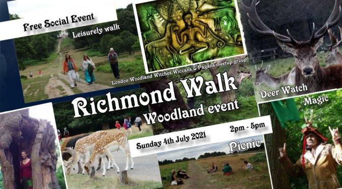 Visit to Richmond Park – Walk, Picnic & Stag-Lord magic!